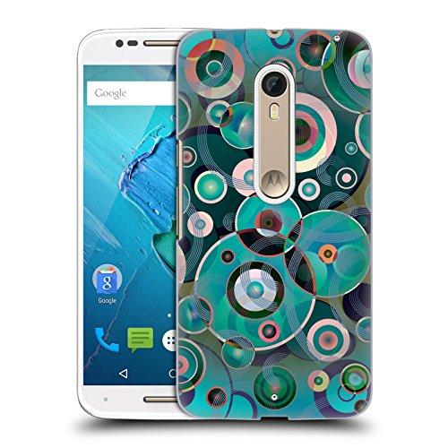 Offizielle Angelo Cerantola Pop Muzik Muster Ruckseite Hülle für Motorola Moto X Style / Pure