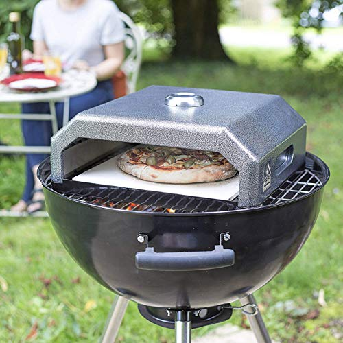 Oxford Barbecues Gourmet BBQ Pizza Oven + Wooden Peel