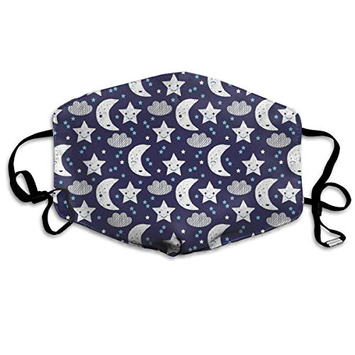 Good Night Wolken Gesichtsmasken Atmungsaktiv Staubfilter Masken Mundschutz Masken Elastische Ohrschlaufe ()