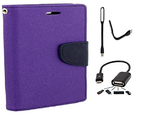 Wait N Watch Royal Dairy Style Flip Cover For Samsung Galaxy TAB S 10.5' SM-T800, T805 (ORCHID PURPLE,OTG,USB LED LIGHT)  available at amazon for Rs.559