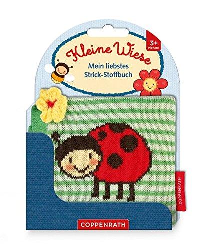 Mein liebstes Strick-Stoffbuch: Kleine Wiese: Ab 3 Monate