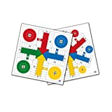 Falomir- Tablero de Parchís para 4 y 6 Jugadores 40 cm Mesa. Juego Clásico. (27911)