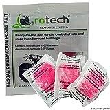 Roshield 15 x Rat & Mouse Pasta Poison Killer Block Bait Control Sachets