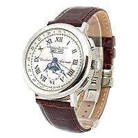 Constantin Durmont Austin CD2551276WH - Reloj de mujer de cuarzo, correa de piel color marrón de Constantin Durmont