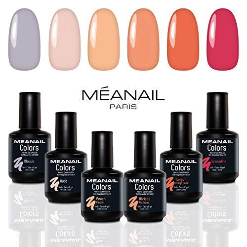 Shellac UV Nagellack - Nagellack Set - UV Gel Set - Gellack Set - Nail Polish Set 6 Farben - 14 Tage...