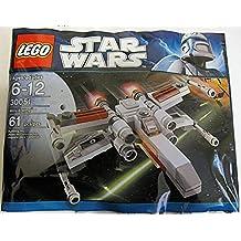 LEGO Star Wars: Mini X-Wing Starfighter (Oscuro Embalaje) Establecer 30051 (Bolsas)