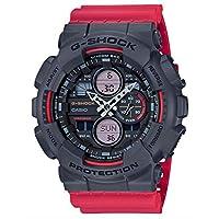 G-Shock by Casio Men's Analog-Digital GA140-4A Watch OSFA Red