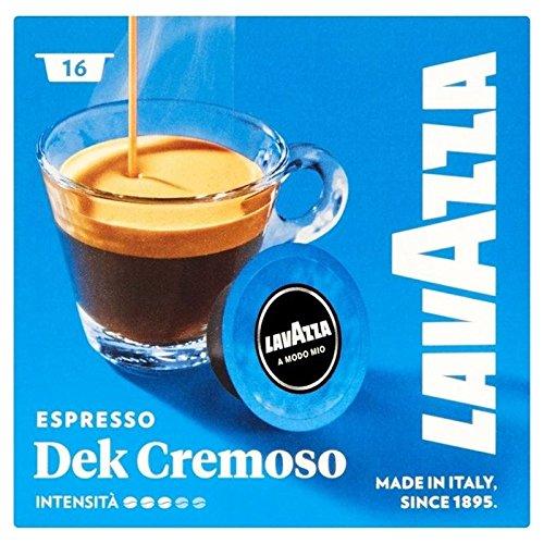 Lavazza A Modo Mio Espresso Dek Cremoso 16-Pack (6Stück)