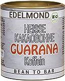 Bio Guarana Kaffee - Trinkschokolade ohne Zucker. Edelmond Vegan und Fair. Kein Kakaopulver, Schmelz-Drops (250 g)