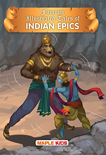 Indian Epics Tales (Illustrated)