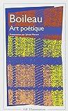ART POETIQUE. Epîtres, Odes, Poésies diverses et épigrammes