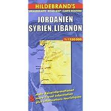 Carte routière : Jordanien, Syrien, Libanon, N° 84