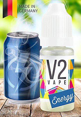 V2 Vape E-Liquid Energy-Drink - Luxury Liquid für E-Zigarette und E-Shisha Made in Germany aus...