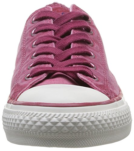 Converse Chuck Taylor All Star Wash Ox, Baskets mode femme Rose