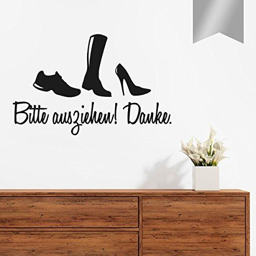 Wandbild VIELE Schuhe