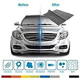 OMZGXGOD - Rayure Voiture Réparer Tissu, Nano Technologie, L'expérience S'est Révélée Efficace, Réparation d'éraflure de Voiture Enlèvent L'oxydation,Efface Rayures