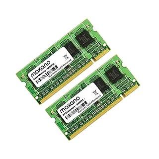 4GB Dual Channel Kit (2x 2GB) for Toshiba Tecra A6P3401DDR2667MHz PC2-5300SO DIMM Memory