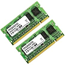 4 GB Dual Channel kit (2 x 2 GB) para Sony VAIO VGN-AR61S DDR2 667 MHz PC2 – 5300 So DIMM Memoria de trabajo