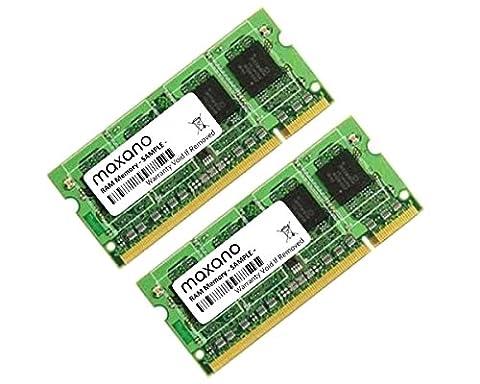 2GB DUAL CHANNEL KIT (2x 1GB) DDR2667MHz PC2-5300SO DIMM Memory for Fujitsu-Siemens Esprimo Mobile V5555