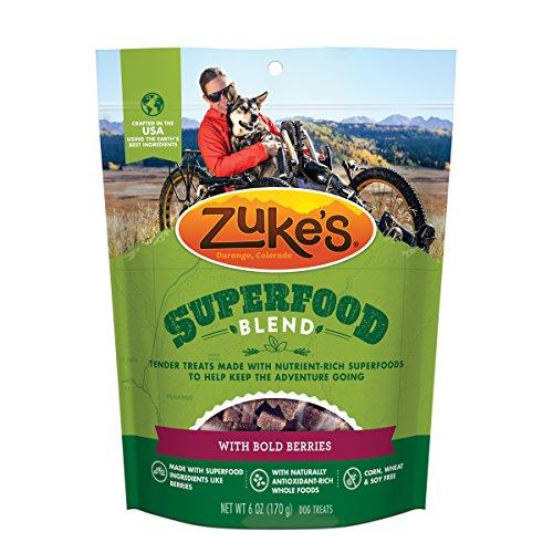 Zuke 's Supers nahrhaftes weichen Superfood Hund behandelt Hund Behandelt, Made In Usa