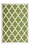 Lalee Teppich Wohnzimmer modern Carpet geometrisches Design Rug Manolya 2097 Grün 160x230cm | Teppiche günstig online kaufen