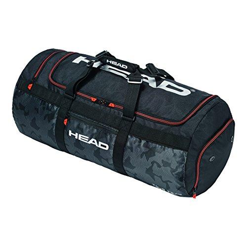 HEAD Unisex Tour Team Sport Tennisschläger Tasche, Schwarz/Silber, One Size -