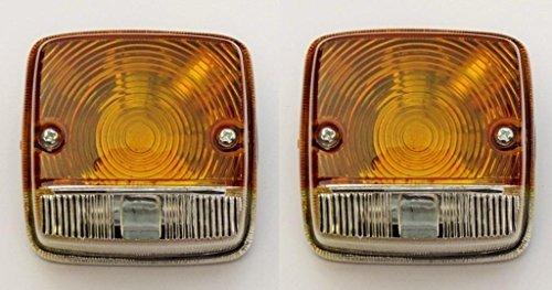 Bajato: indicatore di direzione, luci di posizione a sinistra e destra per IH & David Brown Massey Ferguson Duetz Fahr Eicher Ford Fiat John Deere Kubota New Holland Renault Schlüter altri-11001302FBA