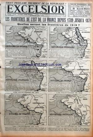 EXCELSIOR [No 2941] du 08/12/1918