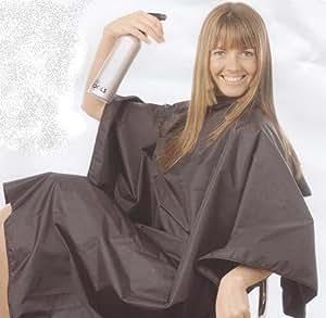 Hair Tools - Cape Blouse Coiffeur Femme Fille Protection Anti-Tache Décoloration