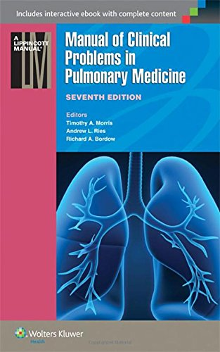 Manual of Clinical Problems in Pulmonary Medicine (Lippincott Manual Series) por Timothy A. Morris