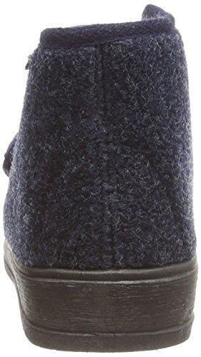 Manitu 370018 grande chaussons Bleu (marine)