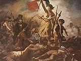 Lais Puzzle Eugène Ferdinand Victor Delacroix - Die Freiheit führt das Volk an 100 Teile