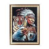 Rawuin Aboriginal Animals DIY 5D Diamond Embroidery Painting Art Cross Stitch Craft (#205)
