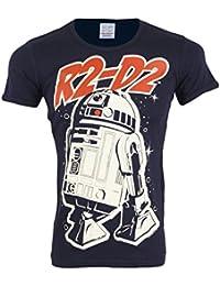 Logoshirt T-Shirt Herren Star Wars R2-D2 navy - fällt normal aus