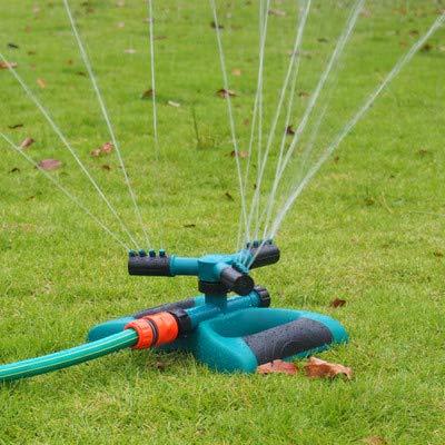 JJ.Accessory Garden Sprinkler Water Sprayer for Lawn Yard 360 Automatic Rotary Sprinkler, Rotating Spray Lawn Grass Sprinkler Head Watering Tools -