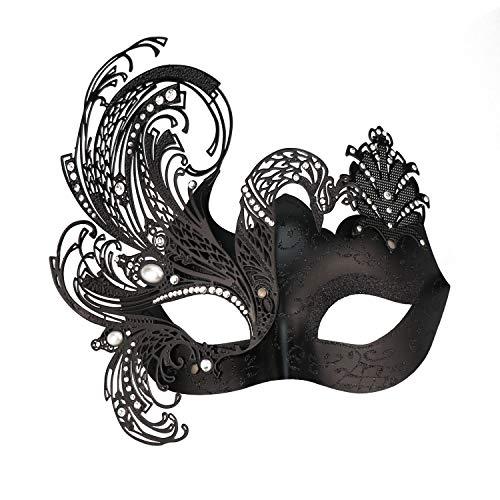 (Geheimnisvolle venezianische Schmetterlings-glänzende Schmetterlings-Dame Masquerade Halloween-Karneval-Party-Maske)