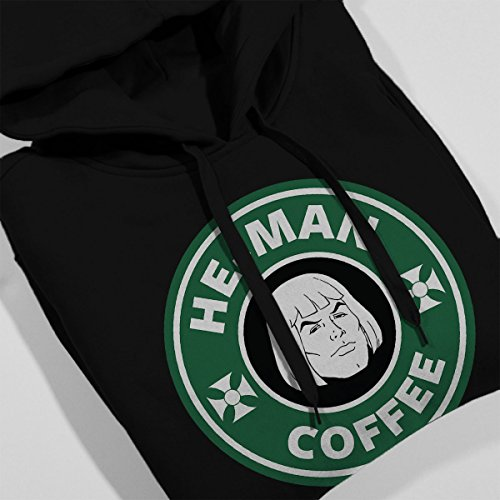 He Man And The Masters Of Universe Starbucks Coffee Women's Hooded Sweatshirt Black