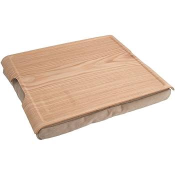 Bosign Kissentablett Lap Tray Holz natur-braun
