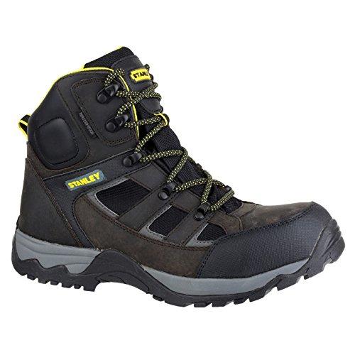 Stanley nera Kelso S3 cucita sicurezza lavoro Boot Black