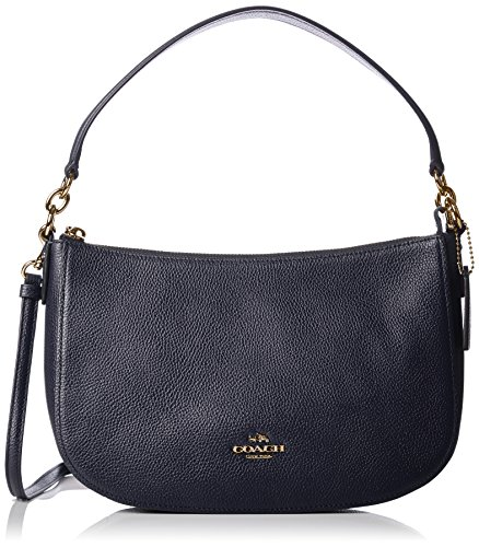 Small Leather Crossbody Handbag 56819Linav ()