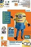 aufblasbares Minions Kostüm für Erwachsene Einheitsgröße -