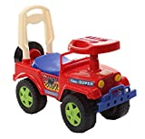 #3: Baybee Power Wheels Desert Mini Jeep Wrangler   Ride On Car Toy   Suitable For Boys & Girls - Red