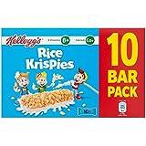 Le Riz De Kellogg Krispies Céréales Et Lait Barres 10 X 20G (Paquet de 6)