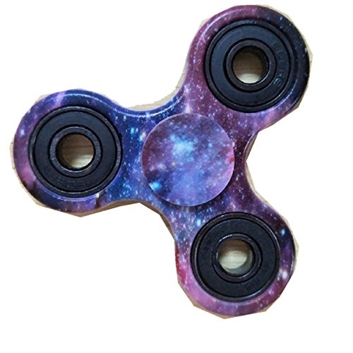 Produktbild Kadcope Fidget hand Spinner High-Speed-Edelstahl-Kugellager 2 bis 5 Min Spin Zeiten Ideal zur Steigerung der Konzentration,  Konzentration
