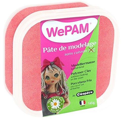 porcelaine-froide-a-modeler-wepam-145-g-rouge-nacre-wepam