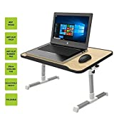 #5: Stvin Laptop Table Foldable Desk Adjustable Height Folding Table Stylish Computer Desk Portable Notebook Stand