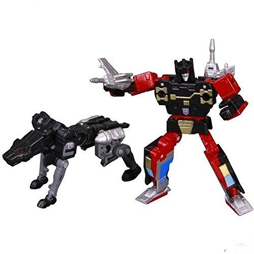 KO Version Transformer Masterpiece MP-15 Ravage & Rumble Jaguar