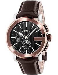R.GUCCI THE G CR.XL NG.AC.PVD MARRON relojes hombre YA101202