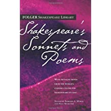 Shakespeare's Sonnets & Poems (Folger Shakespeare Library)