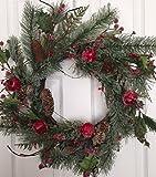 Adirondack Crabapple Winter Wreath 22 In...